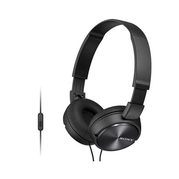 Headphone Sony MDR-ZX310 com Microfone Preto