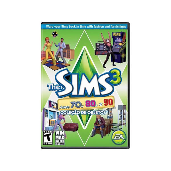 PC - THE SIMS 3: ANOS 70, 80 e 90