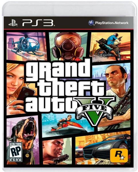 PS3 - GRAND THEFT AUTO V (GTA V)
