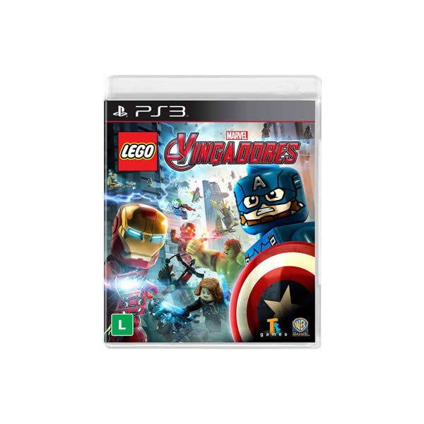 PS3 - LEGO Marvel Vingadores