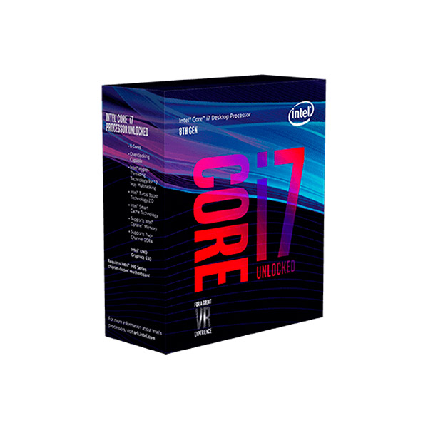 Proc Intel Core i7 8700k (1151) s/ Cooler