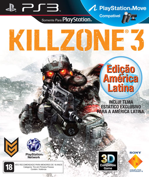 PS3 - KILLZONE 3 SONY