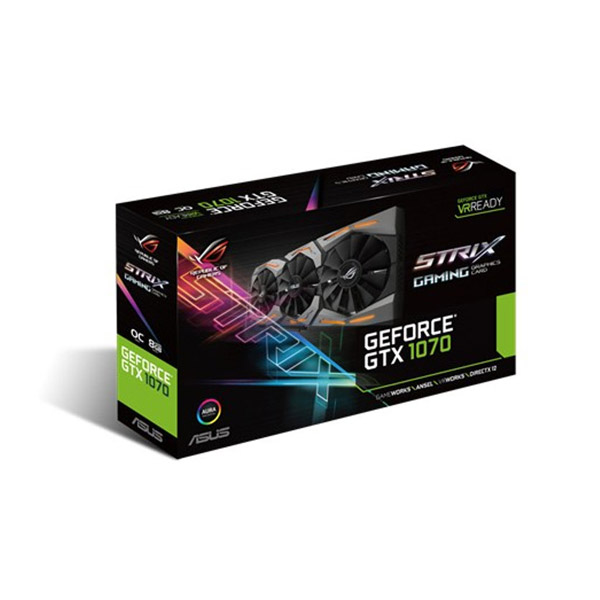 Placa de Vídeo PCI-E 8GB DDR5 GeForce GTX 1070 Asus
