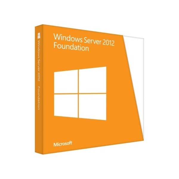 MS - Windows Server 2012 Foundation OEM- Somente servidor HP